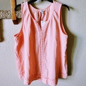 NWT XL Sonoma Summer Juliette Tank XL